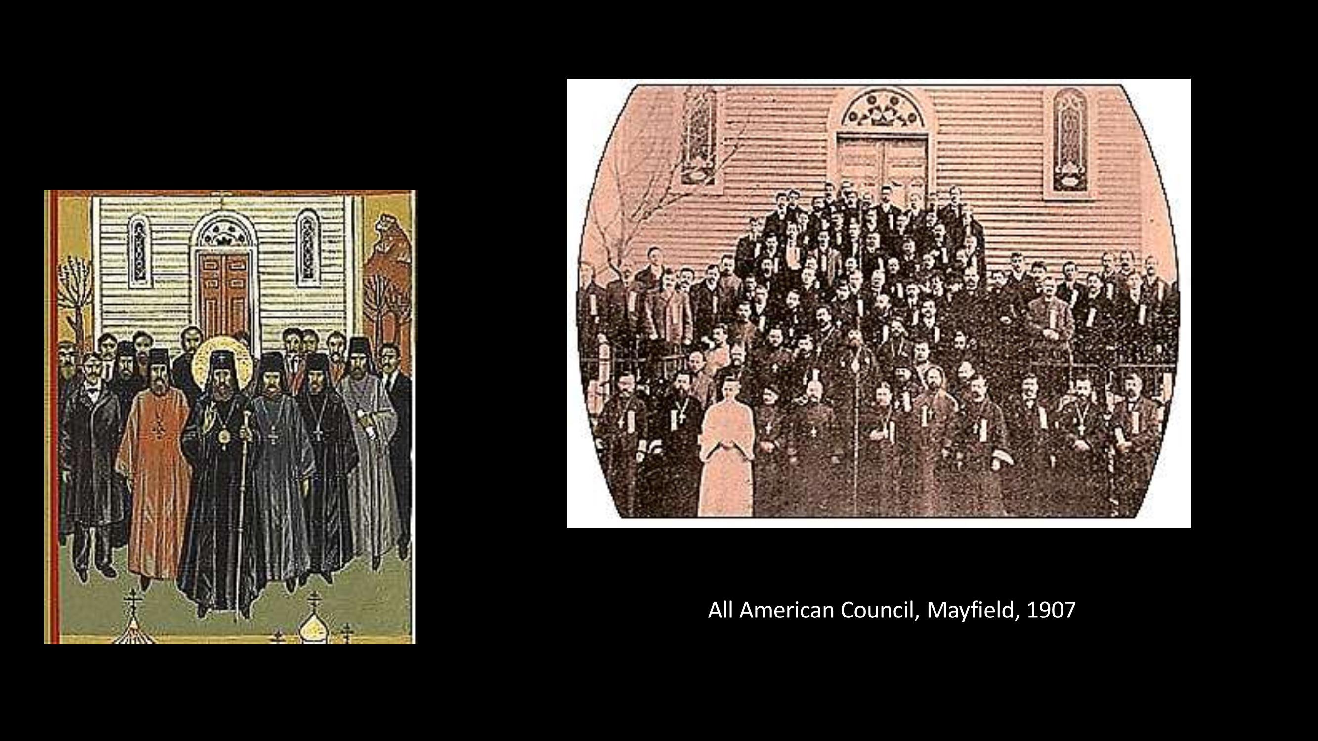 [12] Concilio americano, Mayfield, 1907