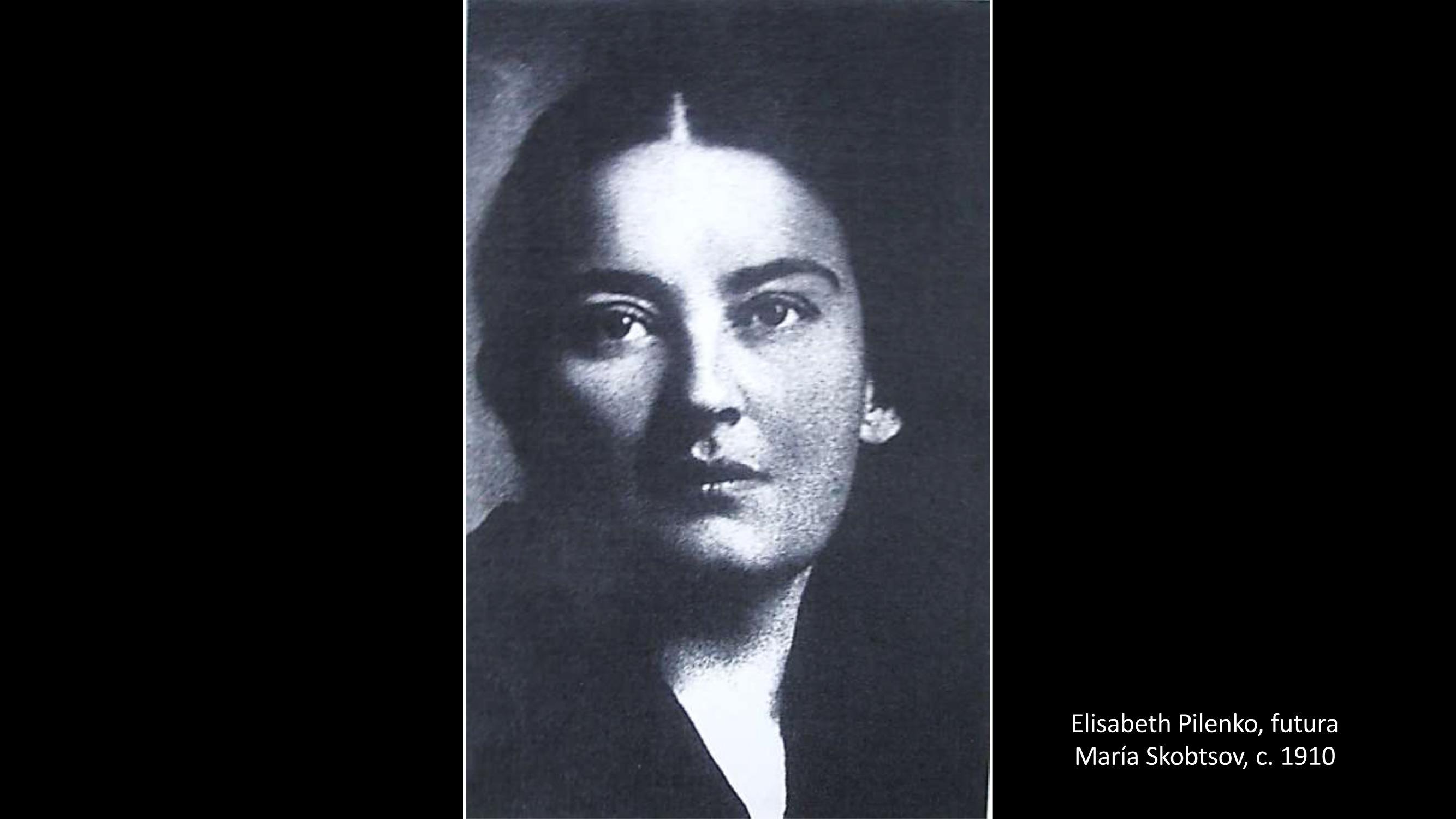 [18] Elisabeth Pilenko, futura Maria Skobtsov
