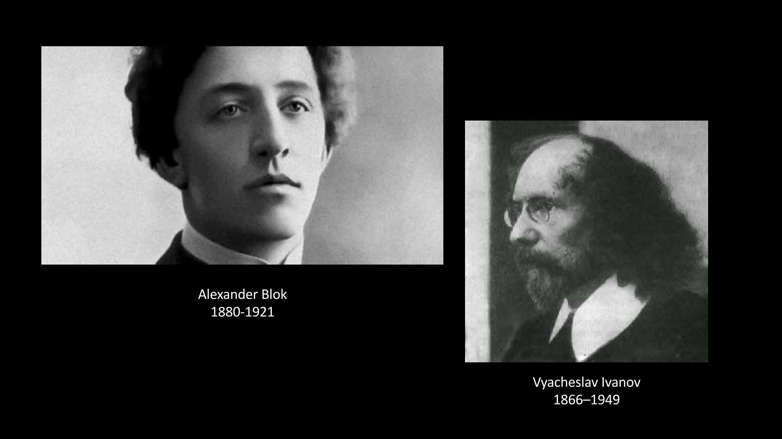 [19] Alexander Blok - Vyacheslav Ivanov