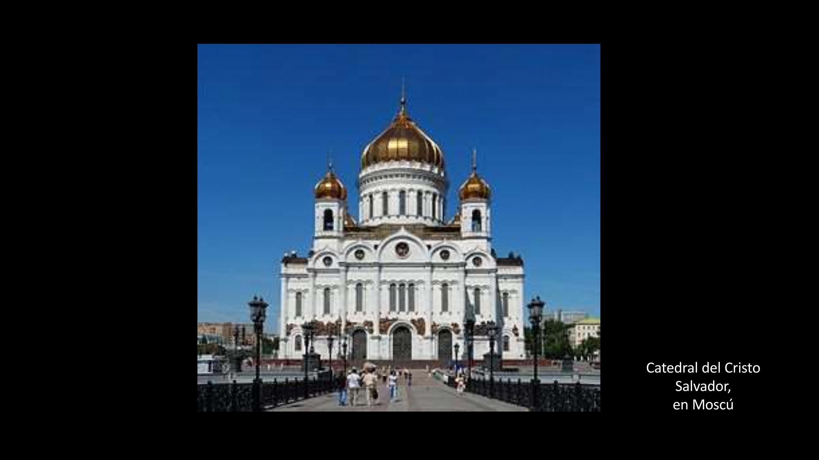 [25] Catedral de Cristo, Salvador, en Moscú