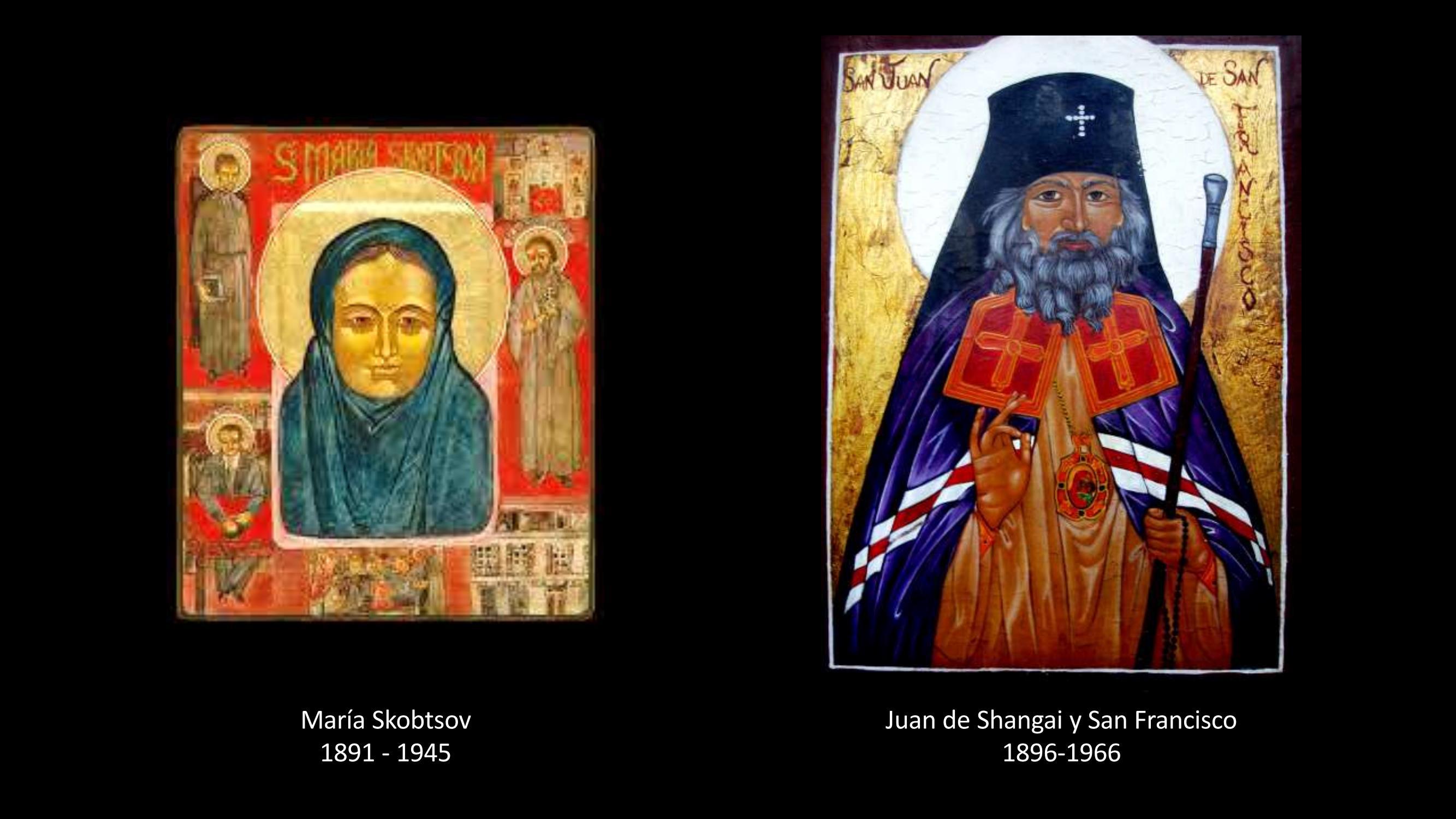 [3] Maria Skobtsov y Juan de Shangai y San Francisco
