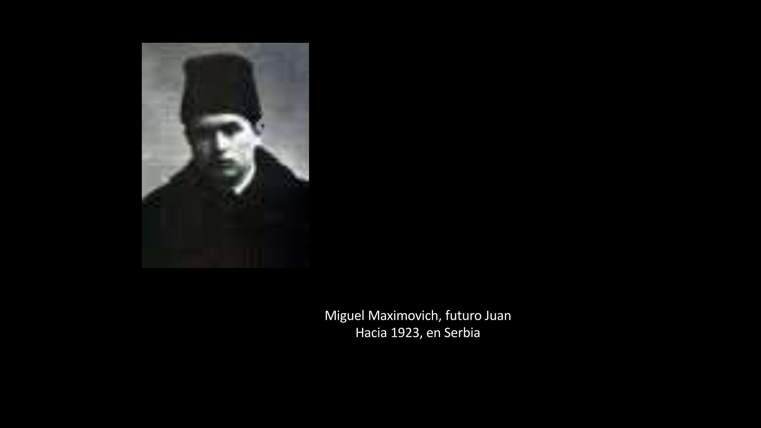 [32] Miguel Maximovich, futuro San Juan de Shangai, 1923