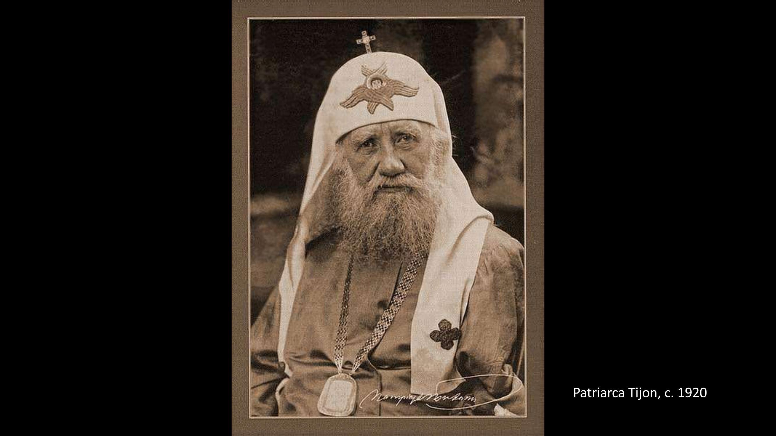 [33] Patriarca Tron, 1920