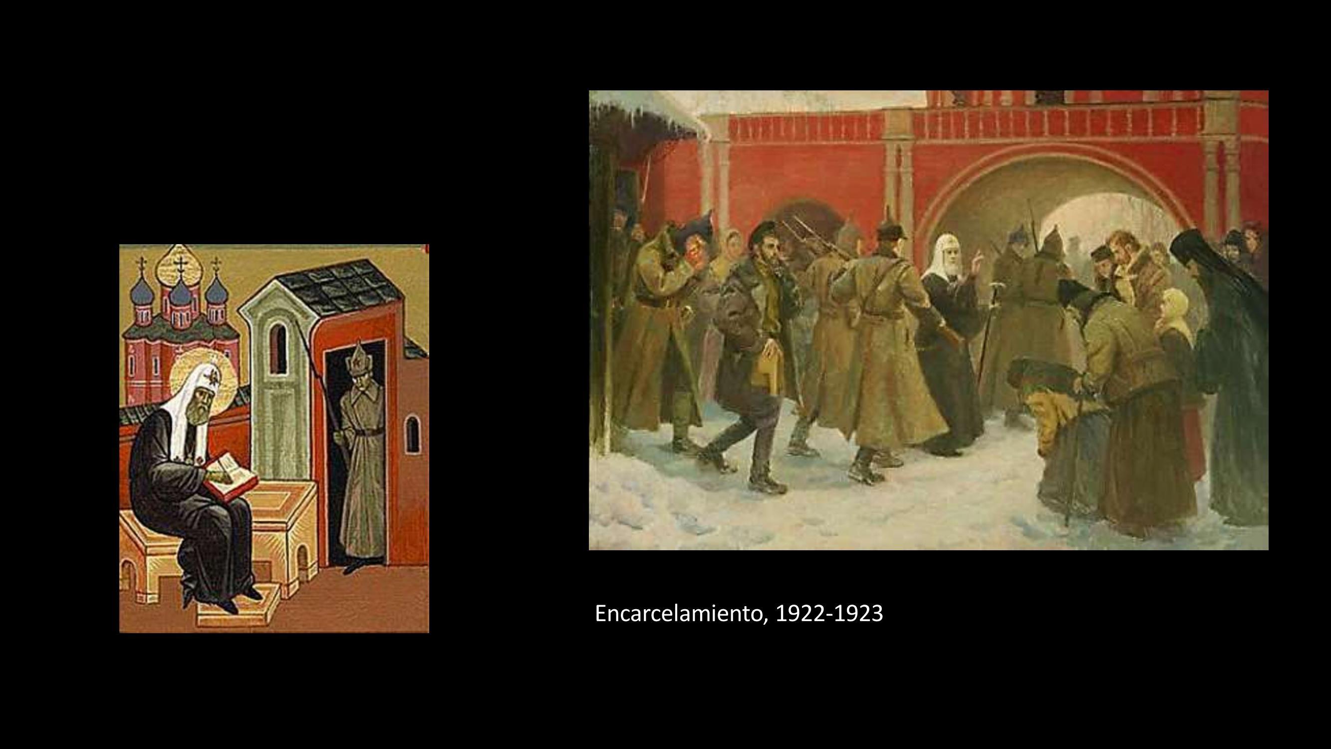 [34] Encarcelamiento, 1922-1923