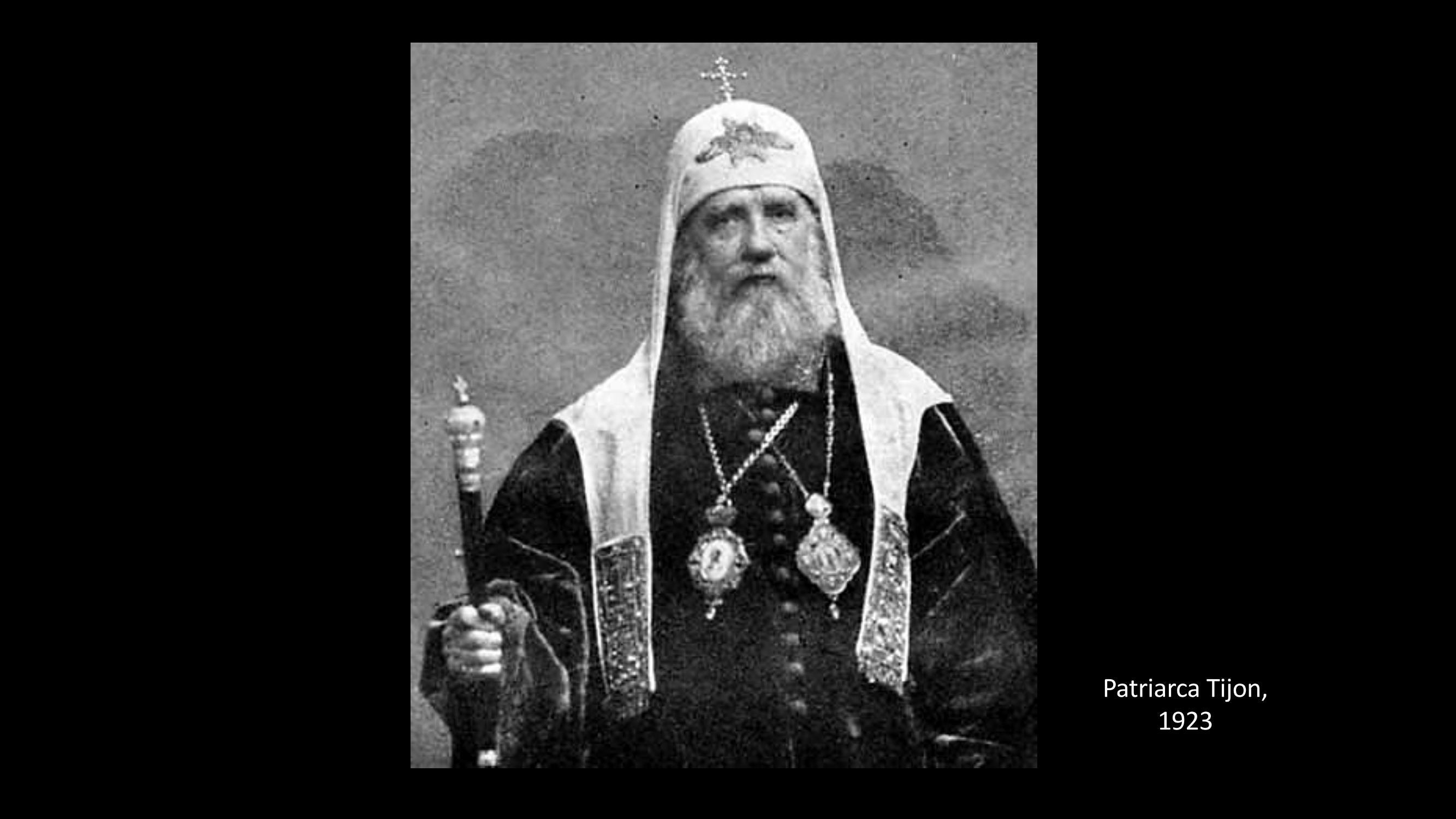[35] Patriarca Tirron, 1923